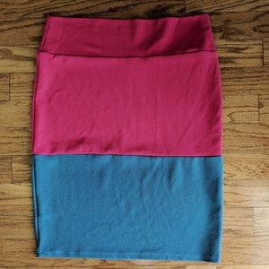 Lularoe Cassie Pencil Skirt Stretch Plus 2XL